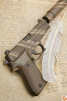 Sig 220 acp is one of their best guns. Weapons Guns, Guns And Ammo, Us Ranger, Fire Powers, Custom Guns, Cool Guns, Panzer, Firearms, Shotguns