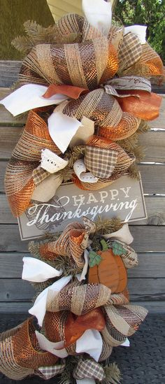 36 happy thanksgiving wreath happy thanksgiving teardrop thanksgiving swag turkey wreath pumpkin wreath fall pumpkin