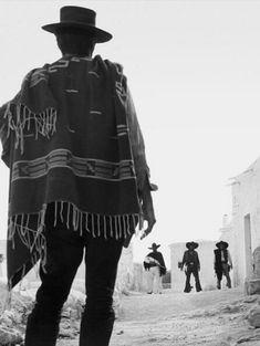 Clint Eastwood — For A Few Dollars Western Film, Western Movies, Western Art, Actor Clint Eastwood, Peliculas Western, Eastwood Movies, Westerns, Sergio Leone, The Lone Ranger