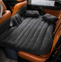 FBSport Car Travel Inflatable Mattress Air Bed Cushion Camping Universal SUV Extended Air Couch with Two Air Pillows (Gray). This type of vehicle-mounted travelling inflatable bed is in common use in any mainstream models of cars and SUV. Suv Camping, Camping Mattress, Air Mattress, Queen Mattress, Camping Stuff, Camping Gifts, Beach Camping, Inflatable Car Bed, Auto Suv
