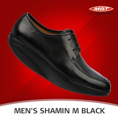 82b8154a81b0 MBT Men s Shamin M – Black is a pair with clean lines and sleek detailing.