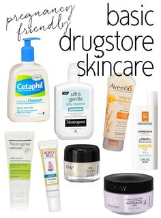 Pregnancy Safe Drugstore #Skincare Products