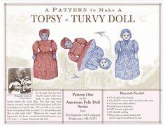 topsy-turvy dolls.