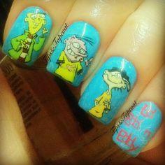 Tips and Topcoat: Ed, Edd 'n' Eddy Art :)
