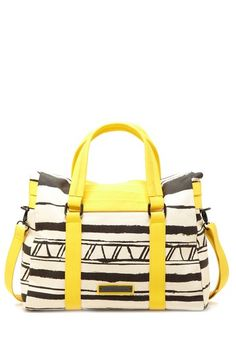BCBGeneration Regina Canvas Satchel | I pinned this before and now it's $59 on #Hautelook