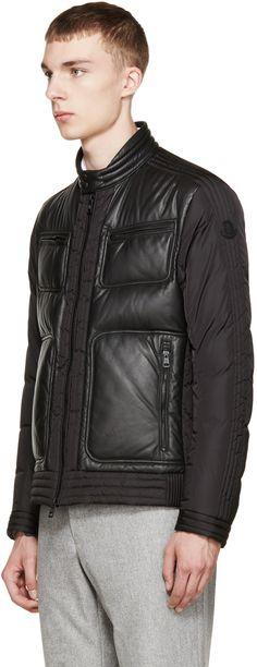 Moncler Black Down Allemand Jacket
