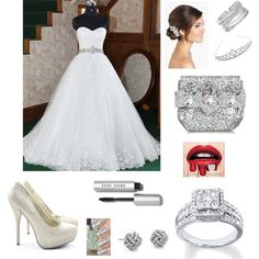 """wedding set"" by megi-star on Polyvore"