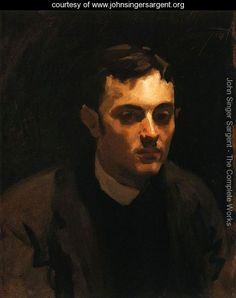 Albert de Belleroche I - John Singer Sargent - www.johnsingersargent.org