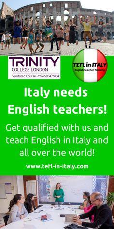 Jobs in Rome I Italian lessons Start May 5th l Meet & Mingle on Tuesdays  I Italy NEEDS English Teachers  #Rome #Expats #jobsinrome http://us9.campaign-archive2.com/?u=2fe86c0349983970626ebfafe&id=d0888870ee