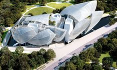 The Cloud design by Frank Gehry for Louis Vuitton