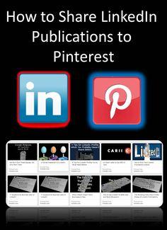 Sharing and Embedding #LinkedIn Pulse Publications by @drgarysharpe