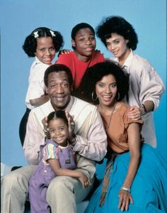 """""""The Cosby Show"""" aired from Starring Bill Cosby, Phylicia Rashad and Lisa Bonet. Best 80s Tv Shows, 80s Shows, Great Tv Shows, Old Tv Shows, Favorite Tv Shows, Bill Cosby, Movies And Series, Movies And Tv Shows, Tv Series"""