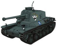 三式中戦車(チヌ) Battle Tank, Military Equipment, Military Vehicles, Anime Art, Godzilla, Type 3, High School, Pocket, Medium