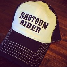 Shotgun Rider Ball Cap – Sweet Sassy & Southern
