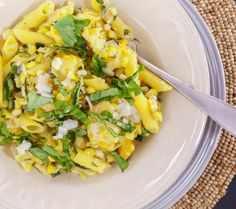 Sweet-and-Spicy Corn, Jalapeno, Cherry Tomato and Mascarpone Pasta