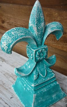 Fleur de Lis French Shabby Chic Home by MountainMarket #FleurdeLis