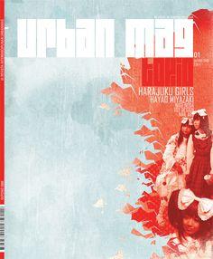 Urban Magazine by Susana Passinhas, via Behance