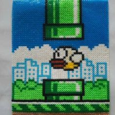 Flappy Bird Nabbi perler beads made by Ina - sissan75