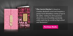 The Carrie Diaries The Carrie Diaries, Popular Books, Coming Of Age, Carrie Bradshaw, Bestselling Author, Carry On, My Books, Friendship, Novels