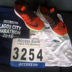 #lagoscitymarathon #3254 #maestrofabulous with the Maestro Himself @maestrofabulous all set and ready to run the Lagos City 42km Marathon this morning it's going to be fun and exciting!! @sunliz_ the time is here talk is cheap see you on the fitness child's play Lagos City Marathon circuit!! Good luck to all participants! By the way Maestrofabulous is dedicating his marathon to all cancer survivors #worldcancerday2016 #worldcancerday #marathonrunning #today #runlagos #lagosrunner…