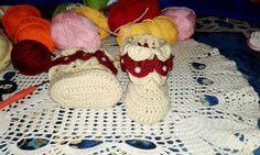 How to Crocodile stitch crochet baby boots  / Video Tutorial - حذاء بيبي...