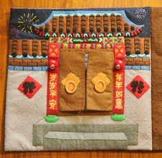 Chinese New Year--I love the door idea. You could do a memory with doors that stuff hid behind and had velcro so that you could mix them up to play again and again.
