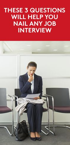 These 3 Questions Will Help You Nail Any Job Interview | Learn some of the best questions to ask in an interview, and why those questions may make or break your next career move.