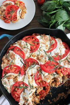 Caprese Quinoa Bake | 25 Delicious Ways To Eat Quinoa For Every Meal