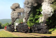RailPictures.Net Photo: Shay 5, 6, 11 Cass Scenic Railroad Shay at Cass, West Virginia by Paul Mancini