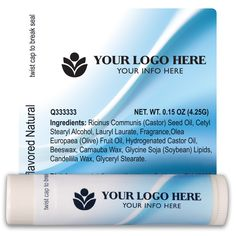 TLB2316 - Healthcare Lip Balm Template 2316 #chapstick #healthcare