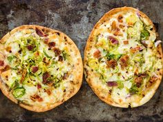 Mashup Monday: Pita Pizza with Brussels Sprouts and Bacon - Que Rica Vida