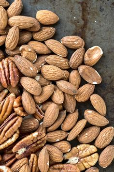 Packed with protein, fiber, and healthy fats, nuts slow down digestion helping to keep your hunger in check for hours.