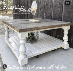 Coffee table farmhouse - Monastery Chunky Maple Farmhouse Bench Legs Set of 4 Unfinished Maple 3 5 x 3 5 x 16 ~ Made – Coffee table farmhouse Decor, Diy Rustic Decor, Farmhouse Living Room Furniture, Farm House Living Room, Living Room Coffee Table, Diy Coffee Table, Coffee Table Farmhouse, Home Decor, Woodworking Furniture Plans