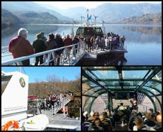 EDICIÓN 2015 UN RIO - DOS PAISES / Visita de la Universidad Sénior de Miranda do Douro (Portugal) al Programa Un Rio - Dos Países en el Buque Hidrográfico de la E.B.I. en el Lago de Sanabria
