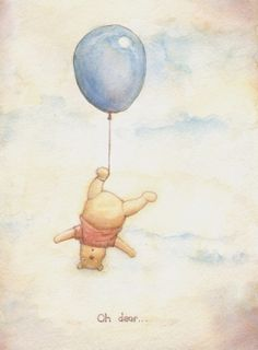Oh Pooh, what have you done.