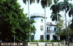 House on Avenida Quinta 5th Avenue in Miramar area of Havana Cuba