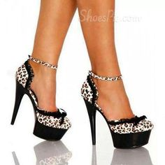 Every girl has to have at least 1 pair of cheetah print heals. ;-)