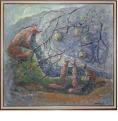 """Omenailta"""" by Maila Järvinen 1993"""