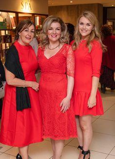 Trisha Byrne, Aileen O'Brien & Rachel Rafter. Celebrity Gossip, Woods, Irish, Product Launch, Female, Formal Dresses, Celebrities, Lady, Beauty