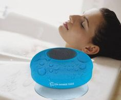 Waterproof Bluetooth speaker!