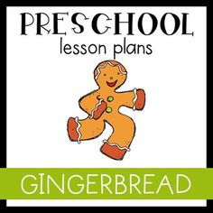 Preschool Lesson Plan- Gingerbread ($)
