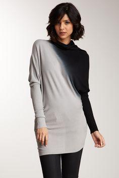 Vertigo | Draped Turtleneck Sweater | HauteLook