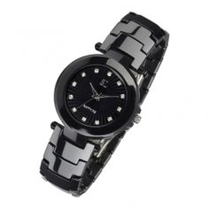K011L Black Ceramic Watch For women