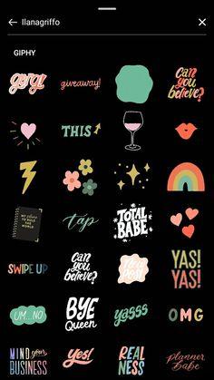 Instagram Font, Instagram Bio Quotes, Instagram Emoji, Instagram Editing Apps, Instagram And Snapchat, Creative Instagram Photo Ideas, Instagram Story Ideas, Ig Hack, Birthday Post Instagram