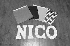 nursery wooden letters