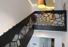 laser cut balustrades - parametric design  Brasov - Romania