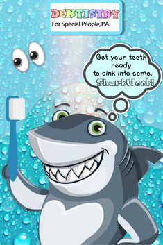 💙🐬👀Get your teeth ready to sink into some SHARK WEEK!🐬👀That's right, it's back and is ready for it! Pediatric Dentist, Shark Week, Special People, Dentistry, Teeth, Sink, Sink Tops, Vessel Sink, Vanity Basin
