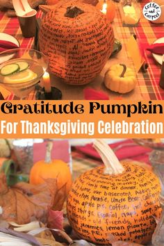 A fun and simple way to help kids embrace the season of gratitude, everyone can make a gratitude pumpkin! See the simple steps for how the whole family can make these pumpkins. Encourage Kids to show gratitude in a fun and festive way with this Thanksgiving tradition. Thanksgiving Ideas Gratitude Pumpkin- helping kids understand what we're thankful for and why it's important #thankful #grateful #gratitude #gratitudeactivity #Thanksgivingactivity #Thanksgivingdecoration Thanksgiving Celebration, Thanksgiving Traditions, Thanksgiving Activities, Thanksgiving Crafts, Thanksgiving Decorations, Holiday Crafts, Fun Outdoor Activities, Autumn Activities For Kids, Family Fun Night