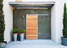 Stainless Classic Barn Door Sliding by RealSlidingHardware on Etsy, $661.00