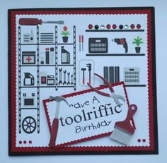 S139 Hand made Birthday Cards using die cut tools